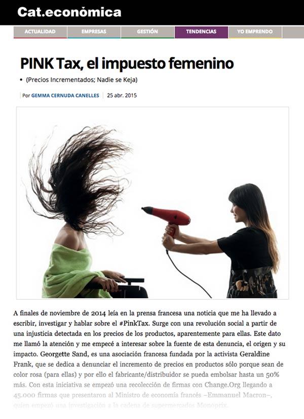 El impuesto femenino